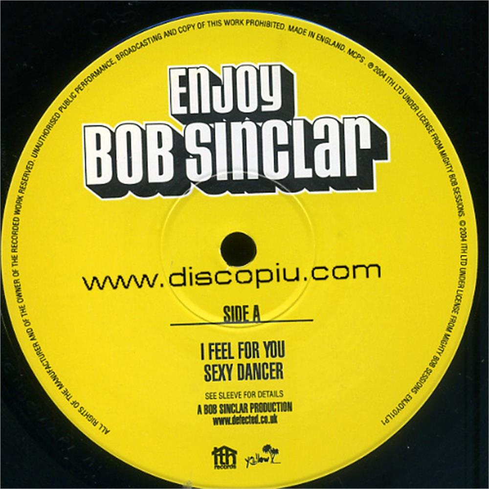 Bob sinclar enjoy part 1 disco pi for Classic house unmixed