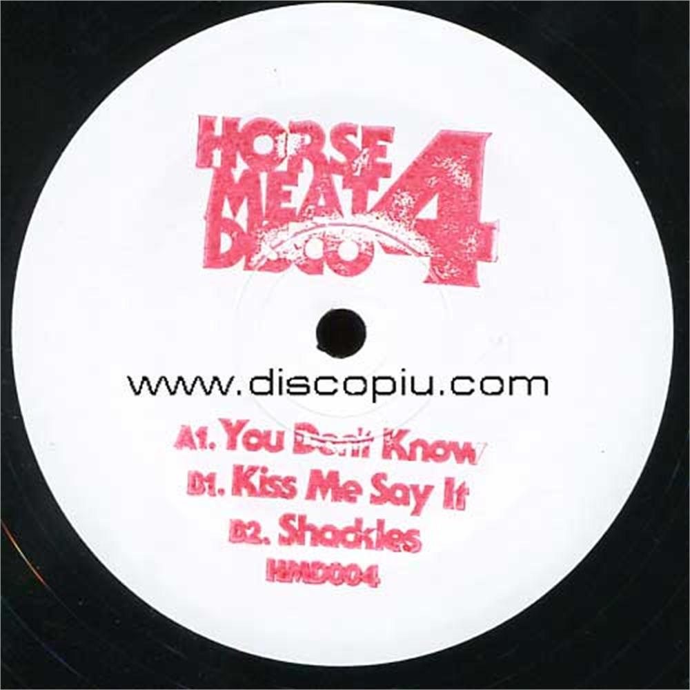 V a horse meat disco vol 4 sampler disco pi for Classic house unmixed