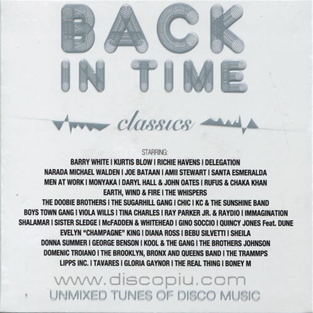 V a back in time classics unmixed only4djs disco pi for Classic house unmixed