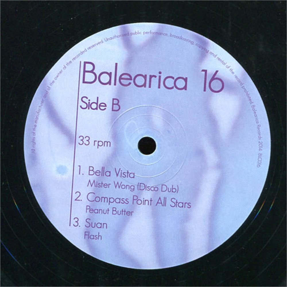V a balearica 16 disco pi for Classic house unmixed