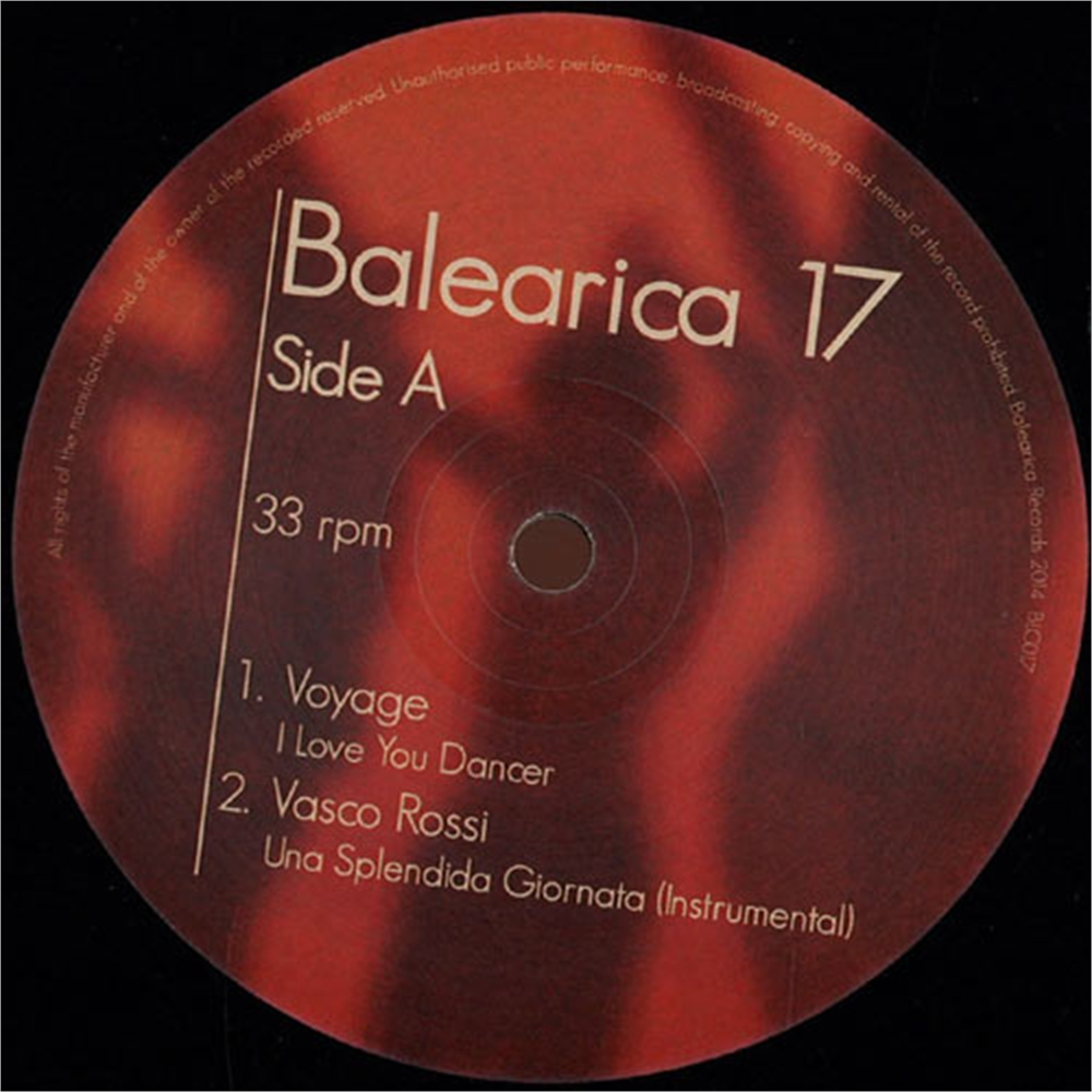 V a balearica 17 disco pi for Classic house unmixed