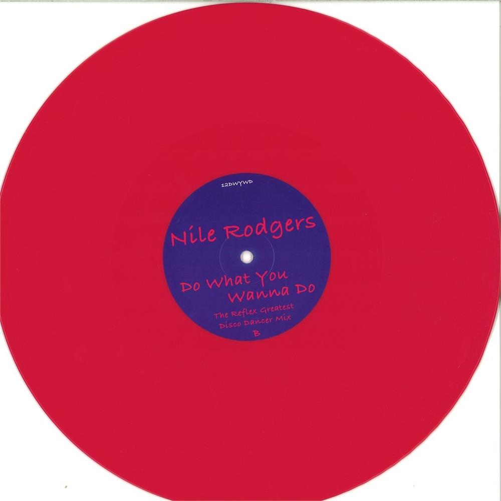 Nile rodgers do what you wanna do pink coloured vinyl for Classic house unmixed