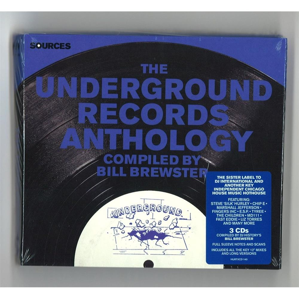Various artists sources the underground records anthology for Classic house unmixed