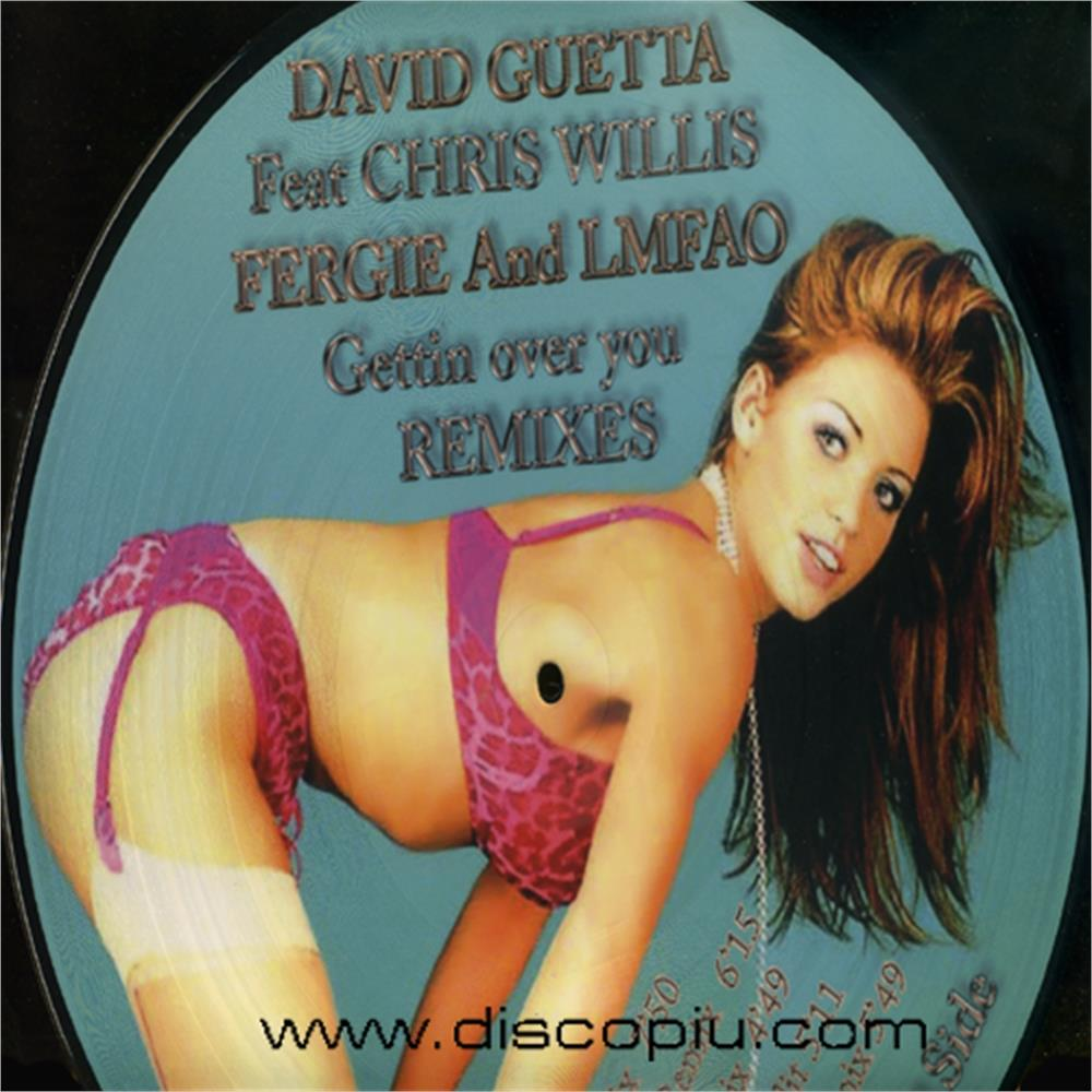 david guetta feat chris willis feat fergie and lmf - gettin over you -  remixes house vocal electro - Disco Più