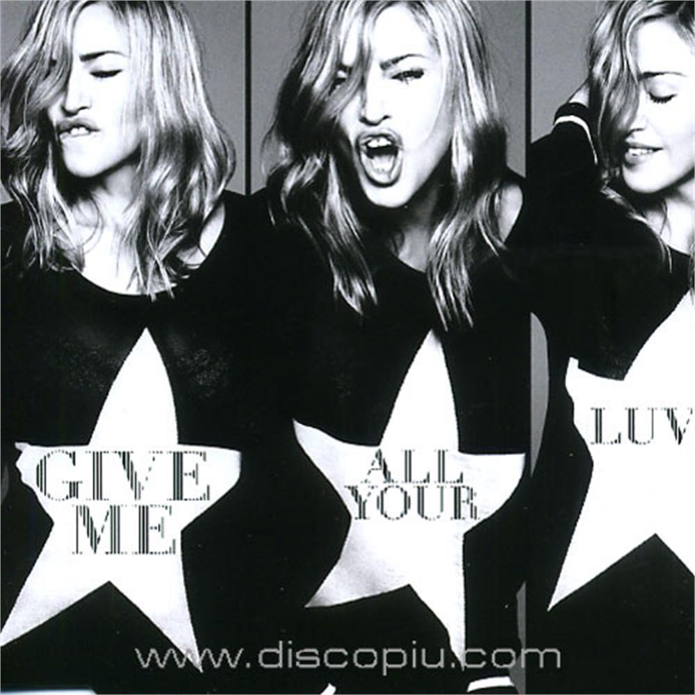 madonna feat m i a  & nicki minaj - give me all your luvin' pop house dance  vocal - Disco Più