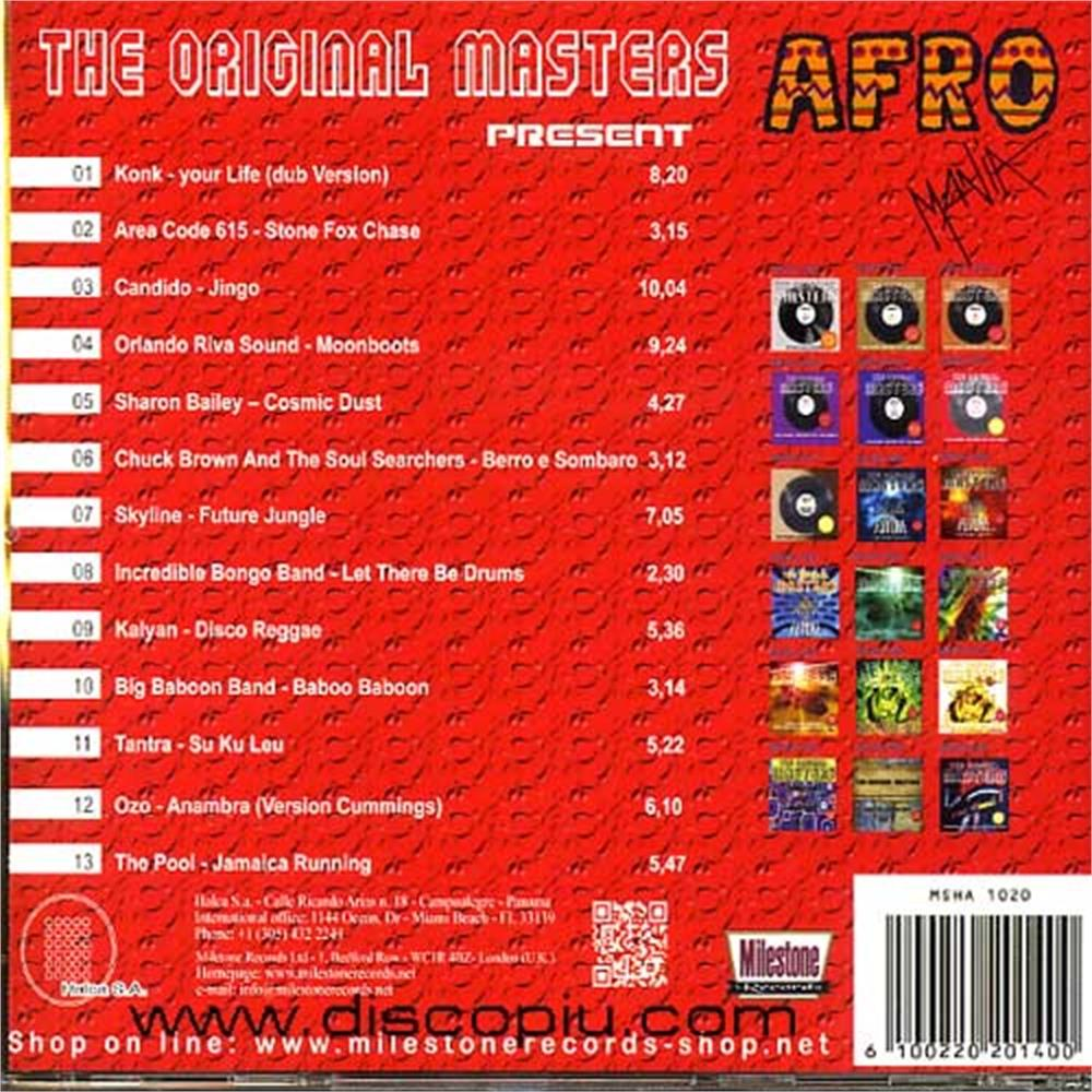 v a  - the original masters - afro mania afro funk cosmic