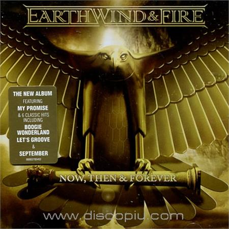 earth wind & fire - now, then & forever (cd)