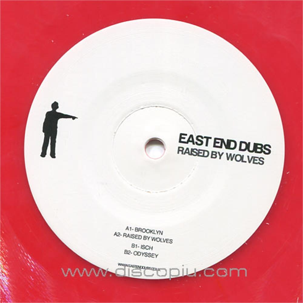 East End Dubs Raised By Wolves Red Coloured Vinyl Only