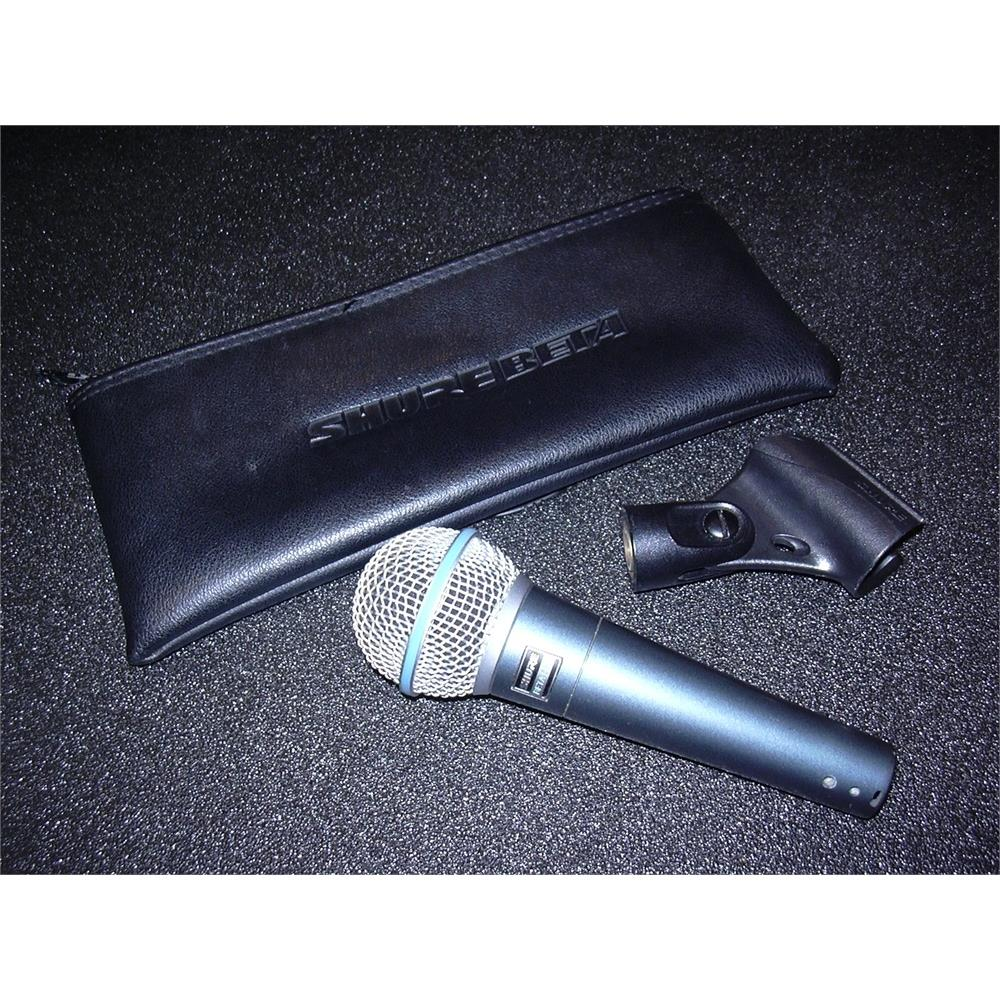 Shure Beta 58a Live Music Wired Microphones Disco Pi Medium Image 5