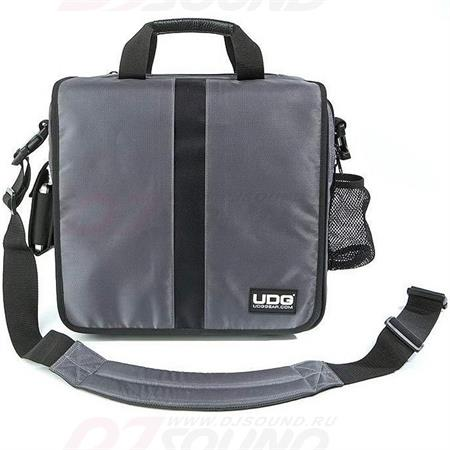 udg-courier-bag-deluxe-steel-grey-orange-inside-u9448sgor