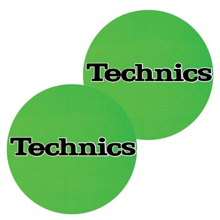 technics-slipmats-green
