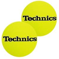 technics-slipmats-yellow