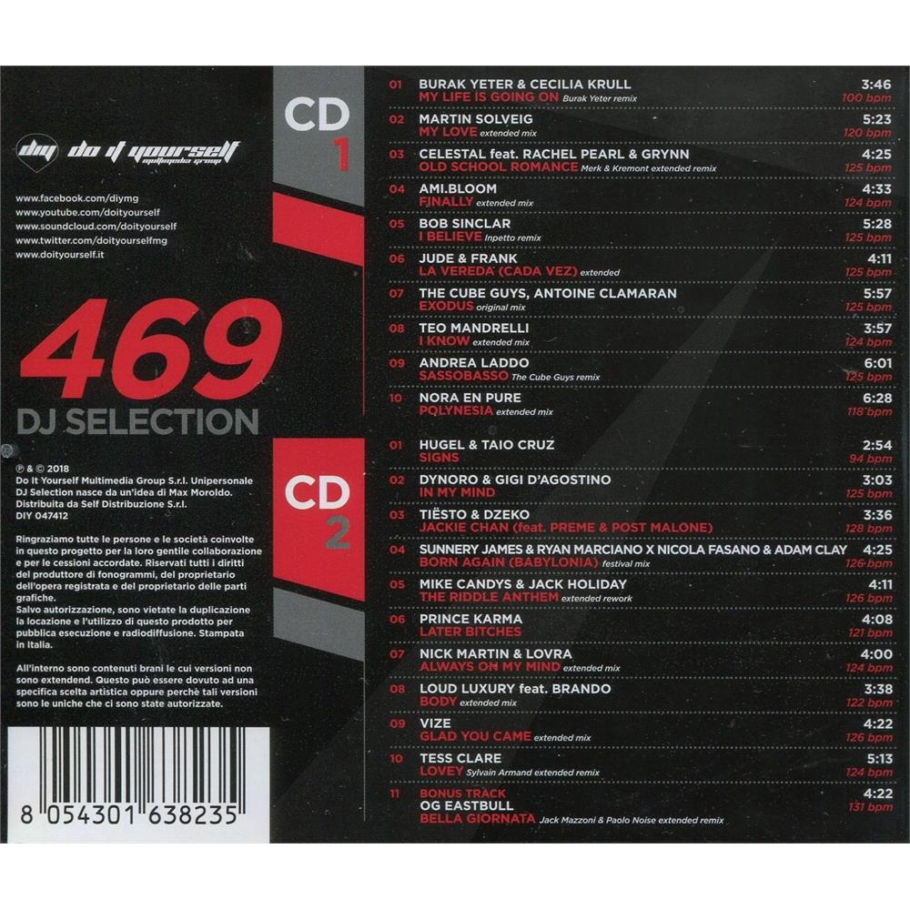 32741264a052f v.a. - dj selection 469 edm house vocal unmixed - Disco Più