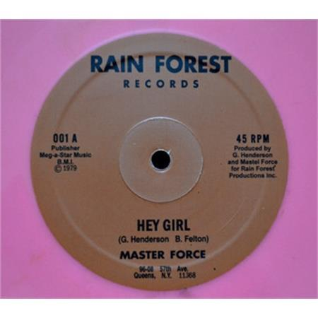 master-force-hey-girl-b-w-don-t-fight-the-feeling-orange-vinyl