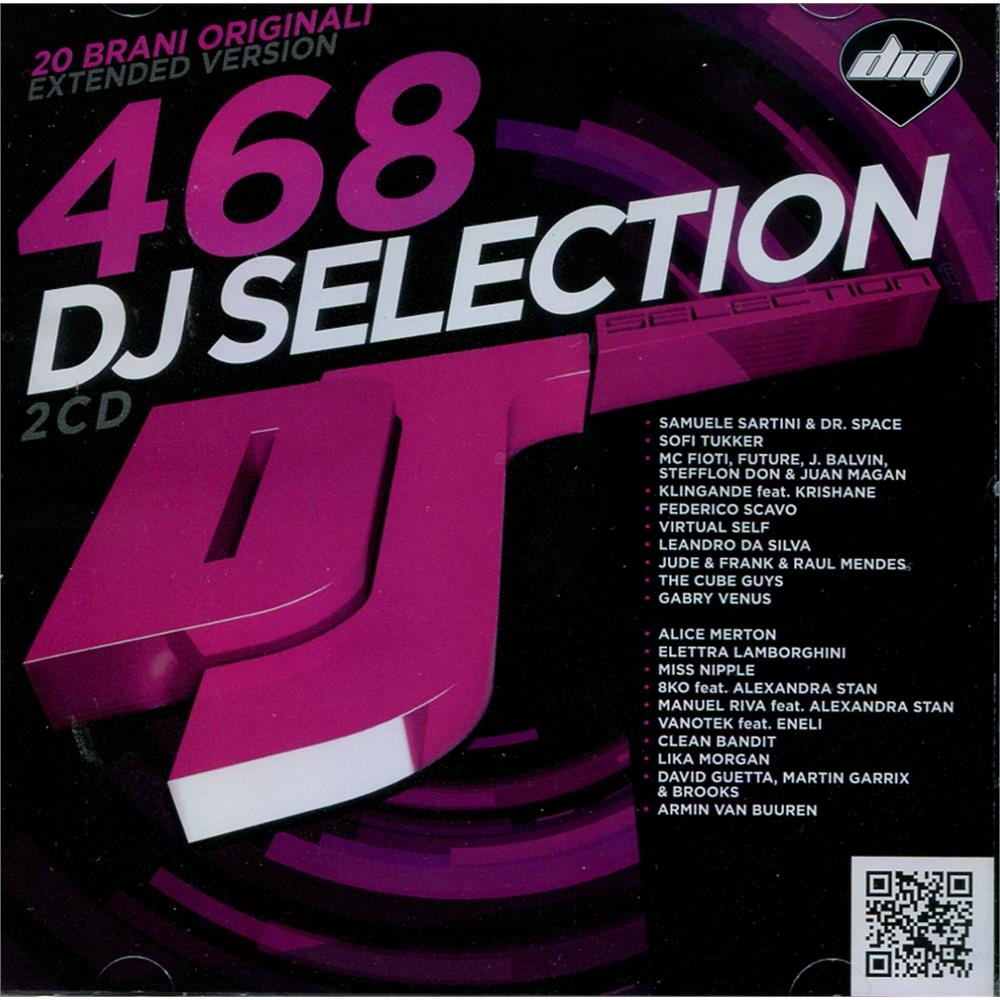 v.a. - dj selection 468 edm dance unmixed - disco più