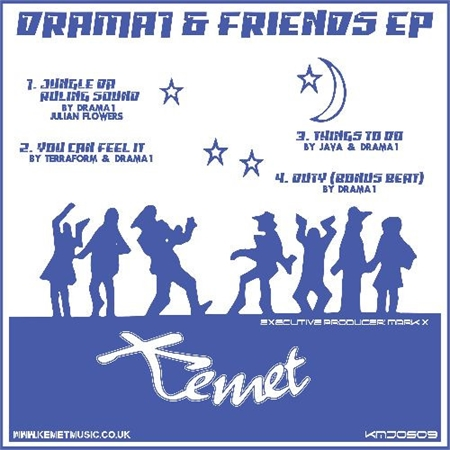 various-artists-drama-1-friends-ep