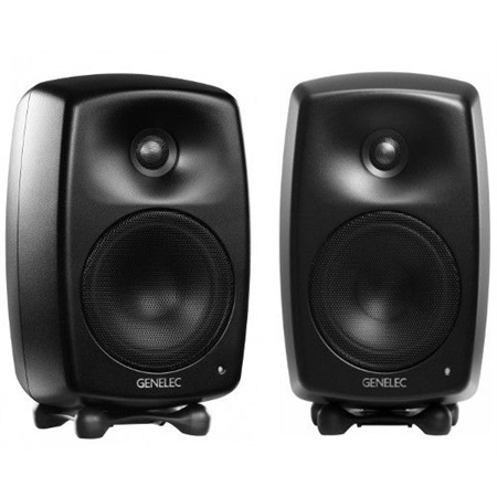 genelec-g-two-black-coppia