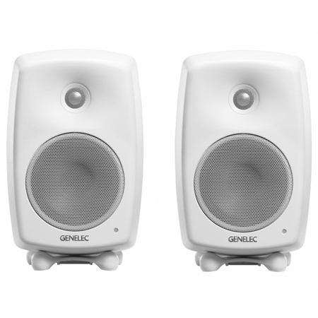 genelec-g-one-white-coppia