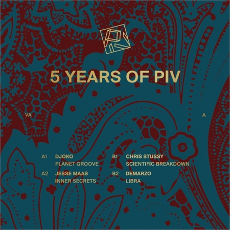 various-artists-5-years-of-piv-2x12-gold-vinyl
