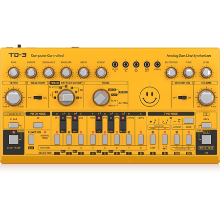 behringer-td-3-am-yellow
