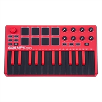 akai-mpk-mini-mkii-limited-edition-red