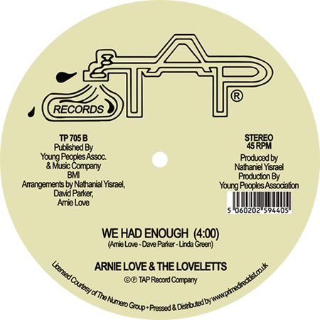 arnie-love-the-loveletts-invisible-wind-me-myself-i-we-had-enough-rsd-2021